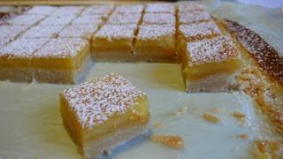 Carrés citronnés