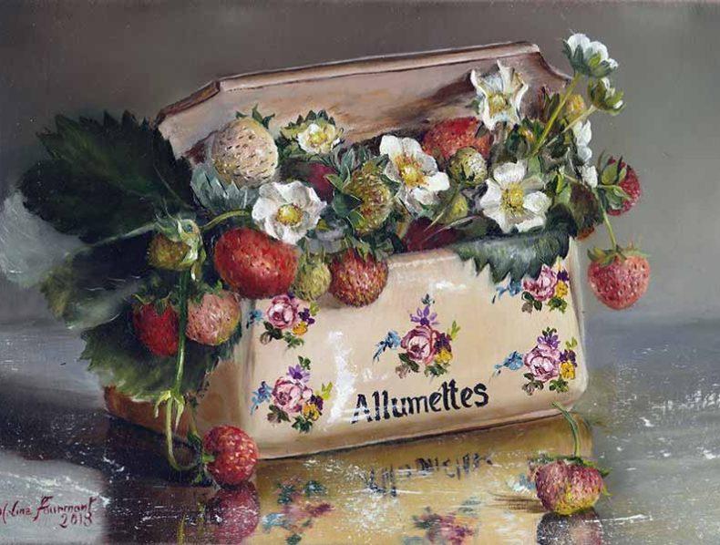 Les peintures de Marie-Line Fourmont & la location d'oeuvre