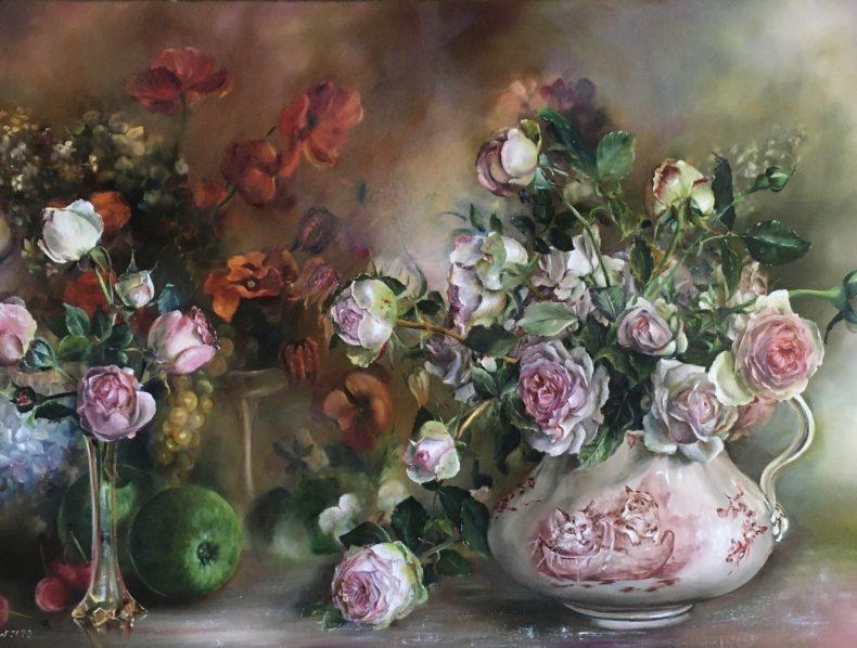 Les peintures de Marie-Line Fourmont